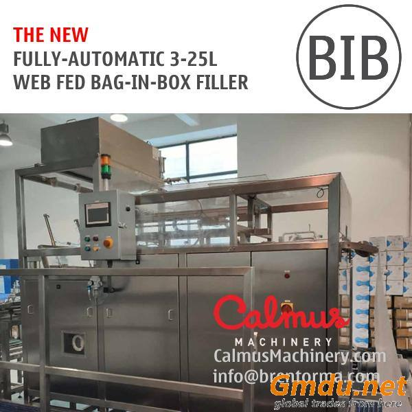 Fully-automatic BIB Bag Filler Equipment Bag in Box Filling Machine for Spring Water