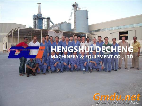 Oversea Service Gypsum Powder Equipment