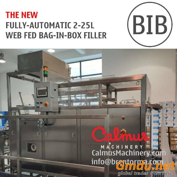 Fully-automatic BIB Bag Filler Equipment Bag in Box Filling Machine for Post Mix Syrup