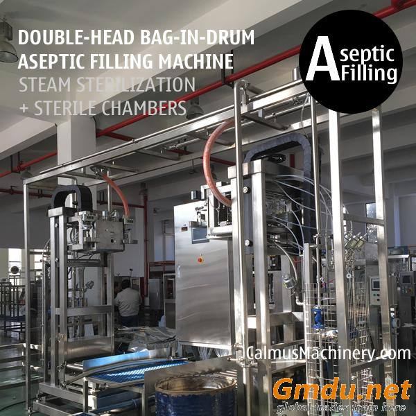 200-220L-KG Sauce Paste Juice Packaging Bag in Drum Aseptic Filling Machine