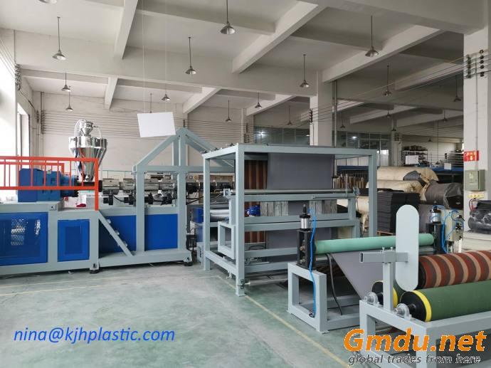 TPE TPR carpet backing machine