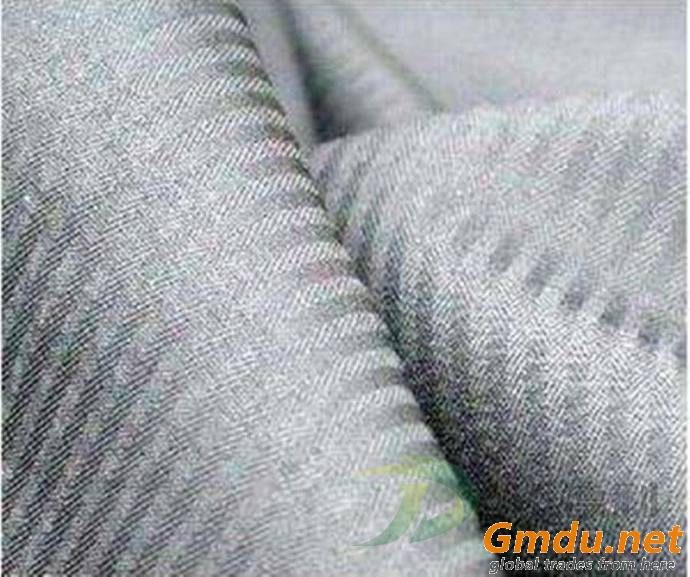 cotton herringbone dyed fabric