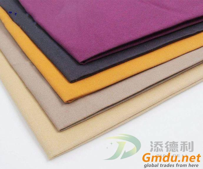 cotton canvas dyed fabric