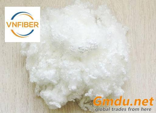 Polyester Staple Fiber Hollow Conjugated Siliconised 7D 64MM