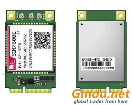 SIMCOM LTE module SIM7600E-H-PCIE CAT4 4G Mini PCIE