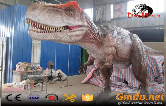 10m long animatronic dinosaur realistice simulation outdoor display model