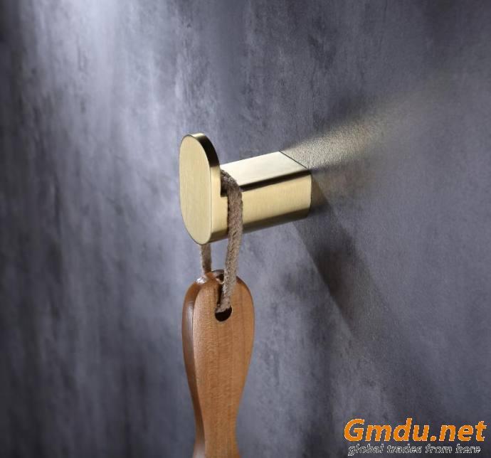 Washroom Brass Robe Hook Single