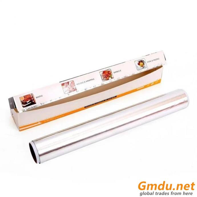 Aluminium kitchen foil roll