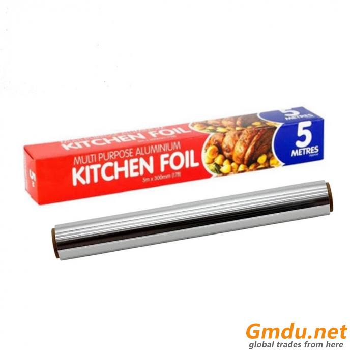 Disposable Household Aluminum Foil Paper Roll