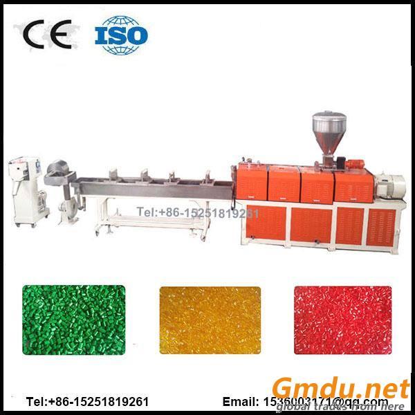 PA glassfiber twin screw extruder pelletizing line