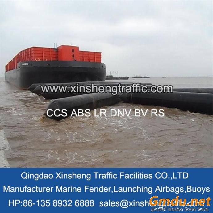 Xinsheng marine rubber ship launching/lifting rubber airbags