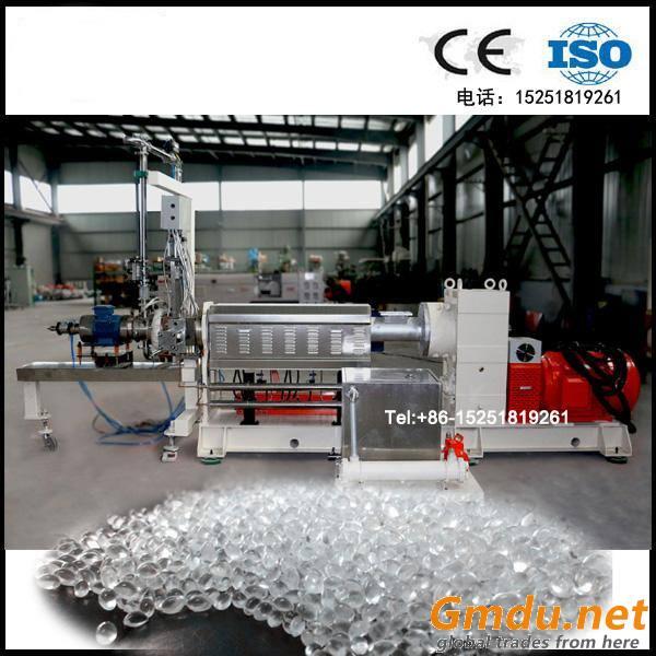 TPE TPR twin screw extruder pelletizing machine