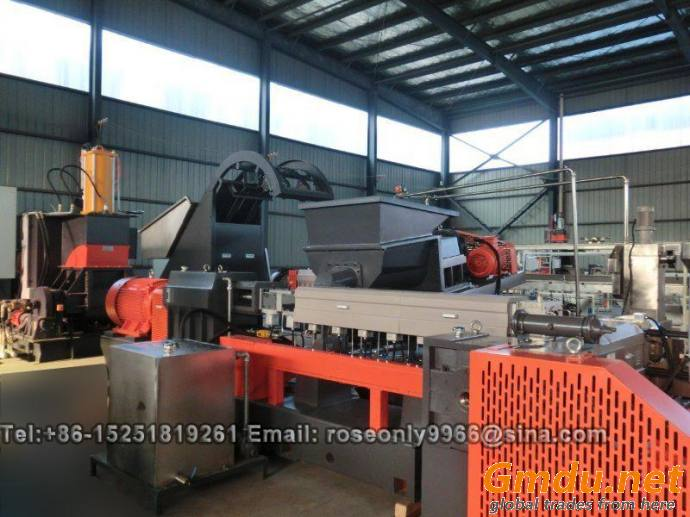 HFFR Kneader two stage extruders pelletizing line