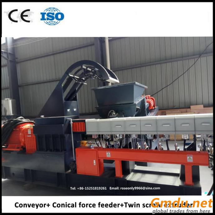 PP non-woven fabric pellets extruder