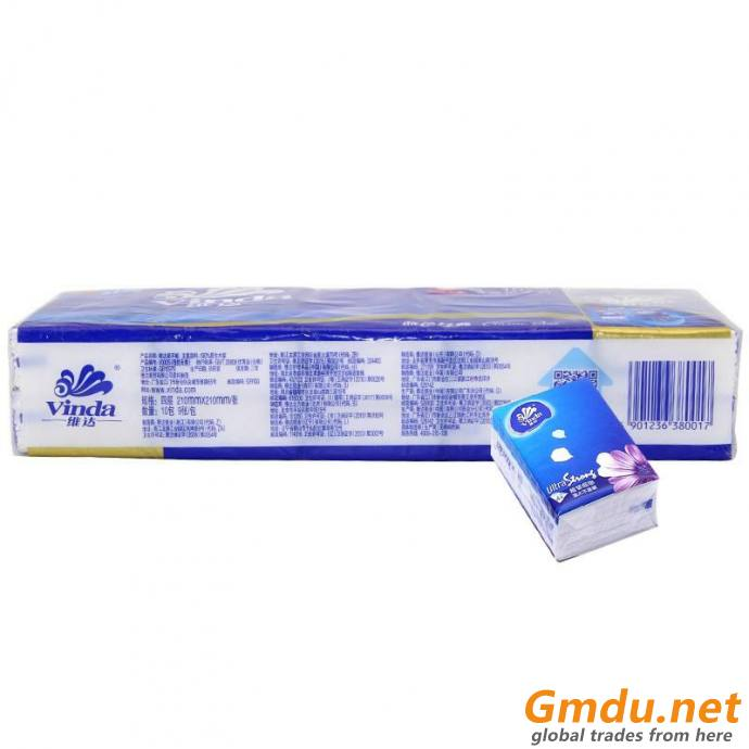 Packaging Plastic Strech Film For Napkin Tissue Wrapping