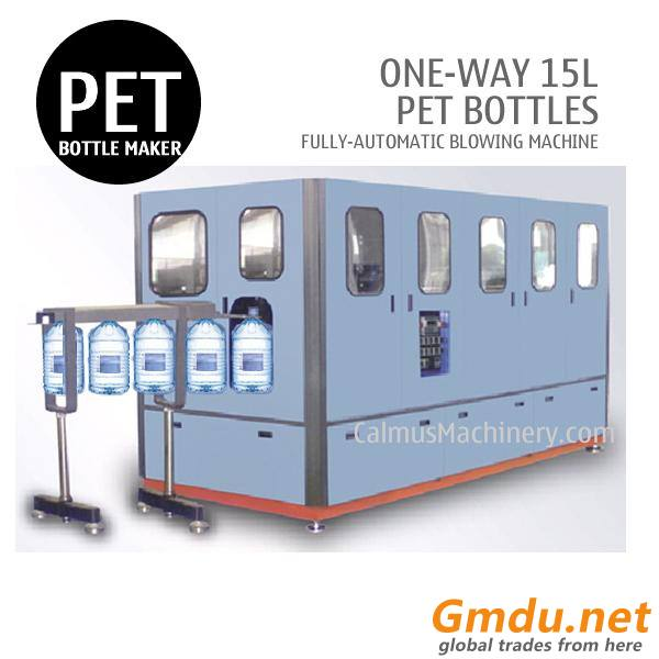 One-Way 15 Litre Bottle Making Machine 15L PET Bottle Blowing Machine