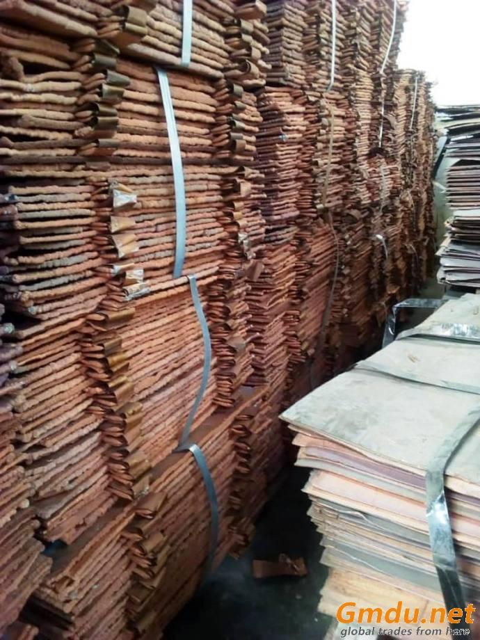 Copper Cathode Plates