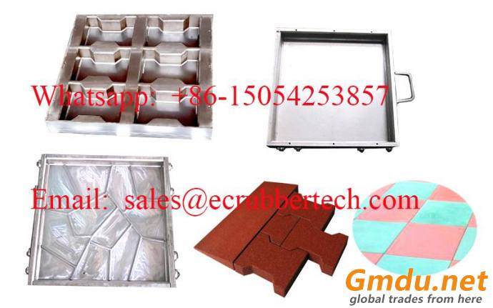 best sell rubber tile mould