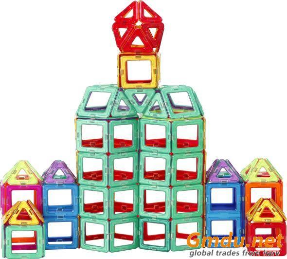 110PCS Educationa Toys Magnetic Blocks