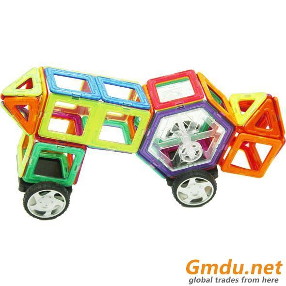 DIY Magnetic Blocks Toys