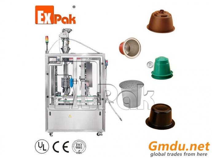 CPL-2501 Linear Coffee Capsule Filling And Sealing Machine