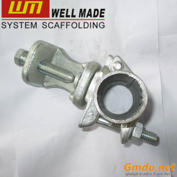 Scaffolding Formwork Drop Forged Fixed Swivel Beam Clamp Coupler