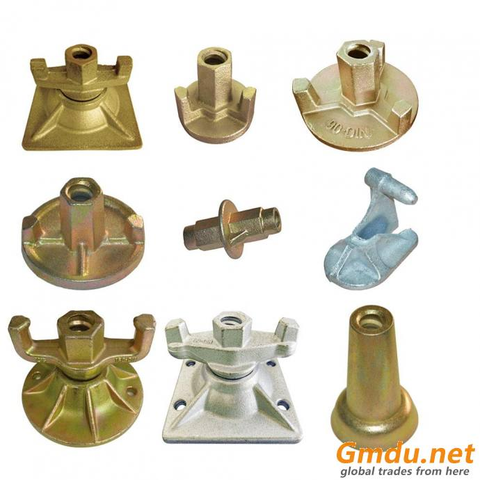 Formwork wing nut for tie rod