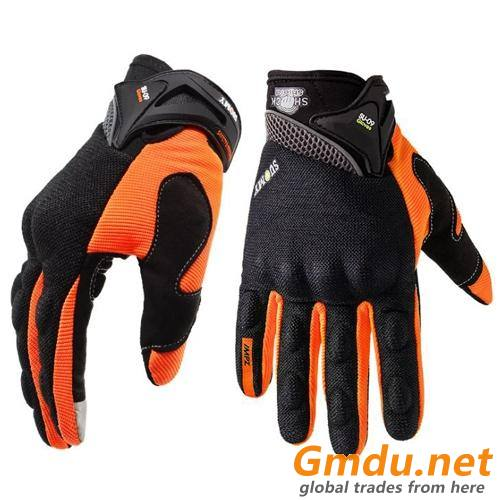 Hard knuckle motorcycle gloves(044)