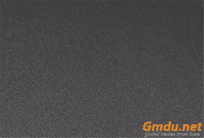 Deep embossed PET surface plywood panels