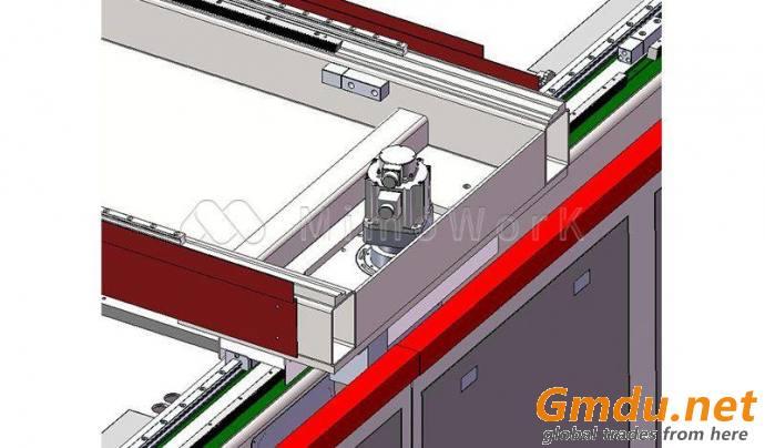 Gantry & Galvo Integrated Laser Cutting & Marking Machine