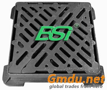 cast iron manhole cover and frame and gully grating
