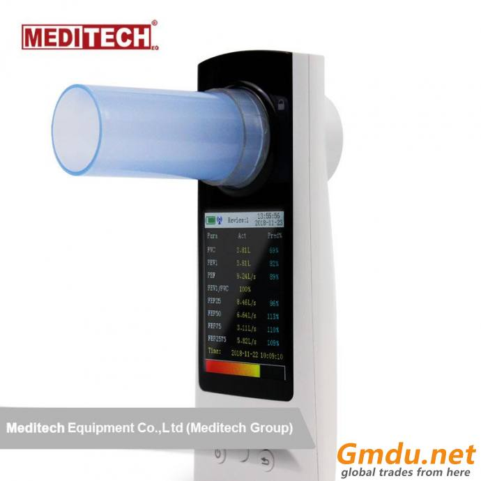 SpirOx plus spirometer FROM MEDITECH large Color Screen