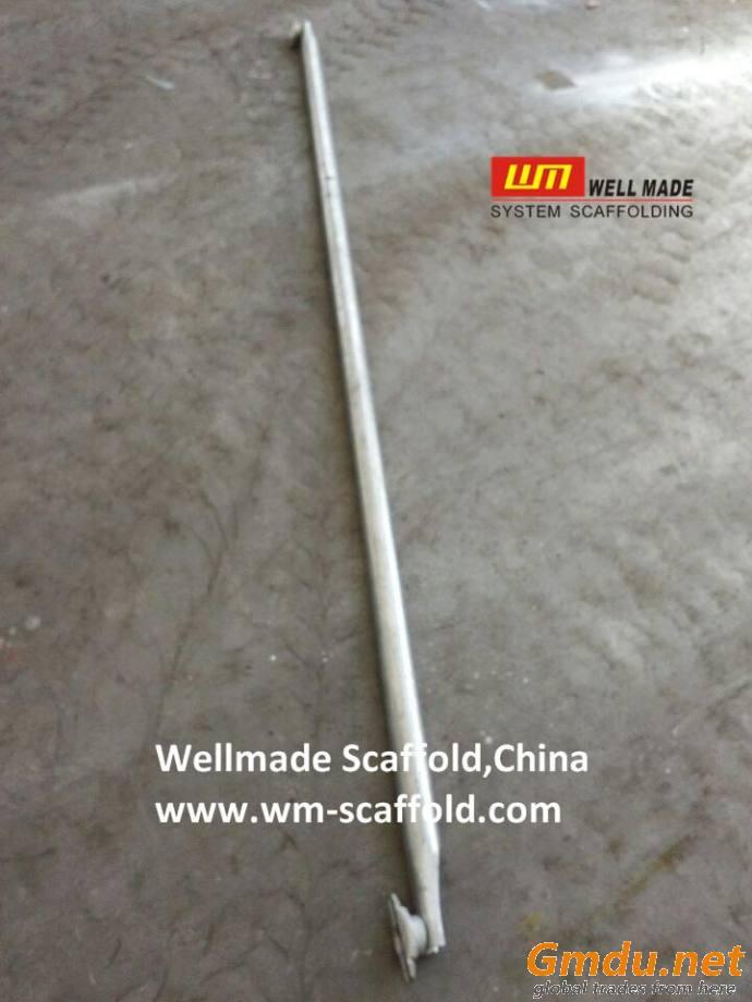 Cuplock System Scaffolding Parts EN12811 Construction Steel Galvanized