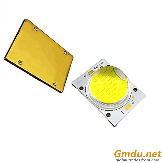 Getian Flip Chip Technology Led Module 100w Cob Led with 120° Lens