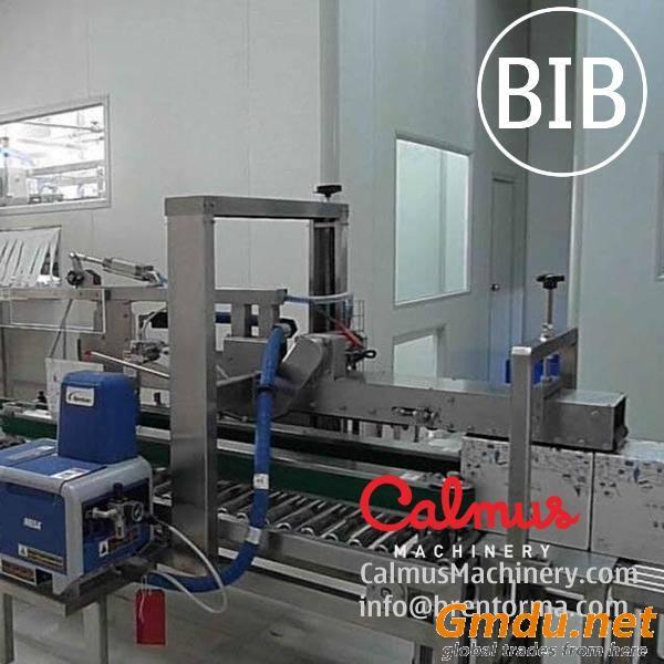 Fully-automatic 3-5-10-20 Litre BiB Filling Machine Bag in Box Cartoning Line