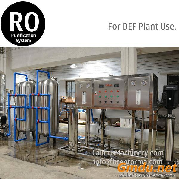 3TPH DEF Diesel Exhaust Fluid Plant Use RO Water Purification System