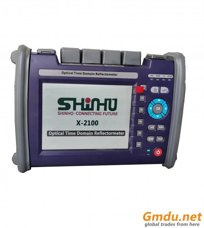 SHINHO X-2100 Easy Handle High Performance OTDR 1310/1550/1625nm OTDR
