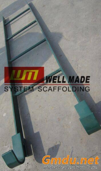 Kwikstage Construction Scaffold Hook-on Ladder Modular Scaffold Ladder Stairs