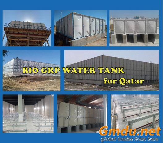 Bio GRP water tank for Qatar