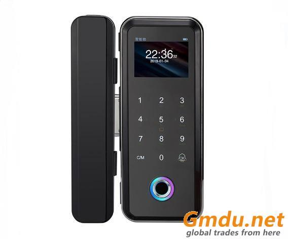 Security electronic fingerprint sliding doors Digital Glass Door Lock