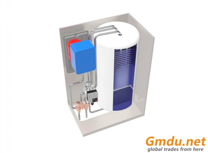 Electric boiler with built-in tank (50 lt)