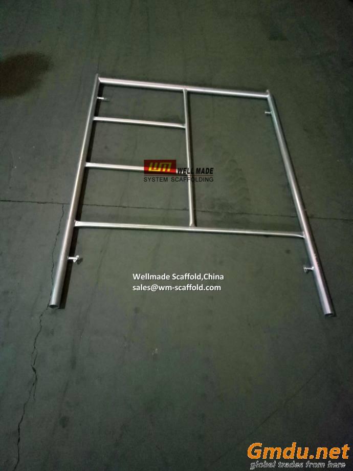 Scaffold Mason Frame Flip Lock Frame Construction H Frame