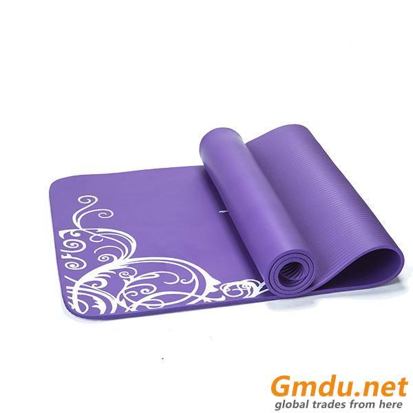 1/2 inch thickness High Density Eco-friendly NBR yoga mats-kmn01