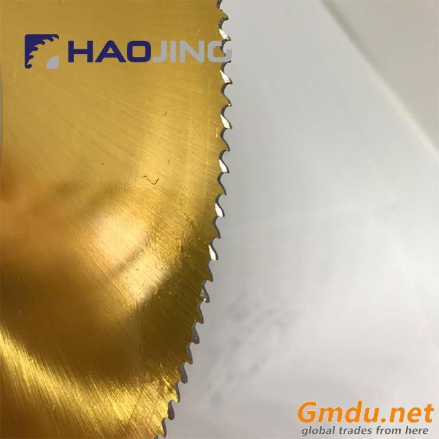 TiN Coating HSS Saw Blade DM05 with High Cutting Performance