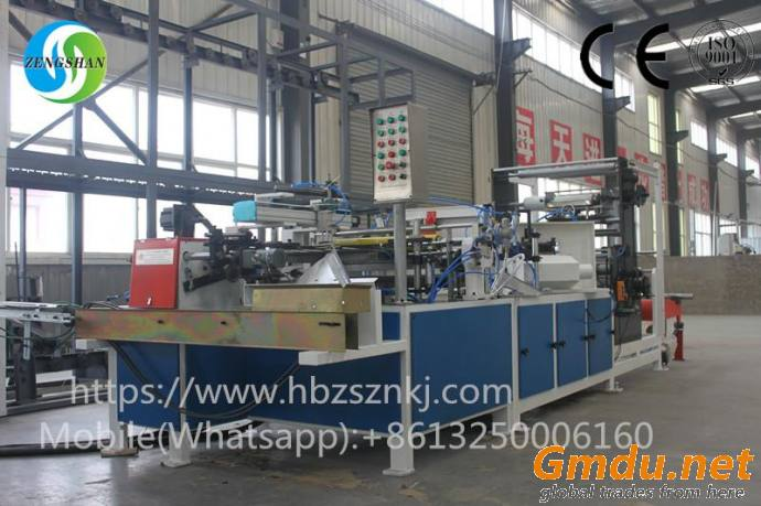 Automatic conical paper tube production line