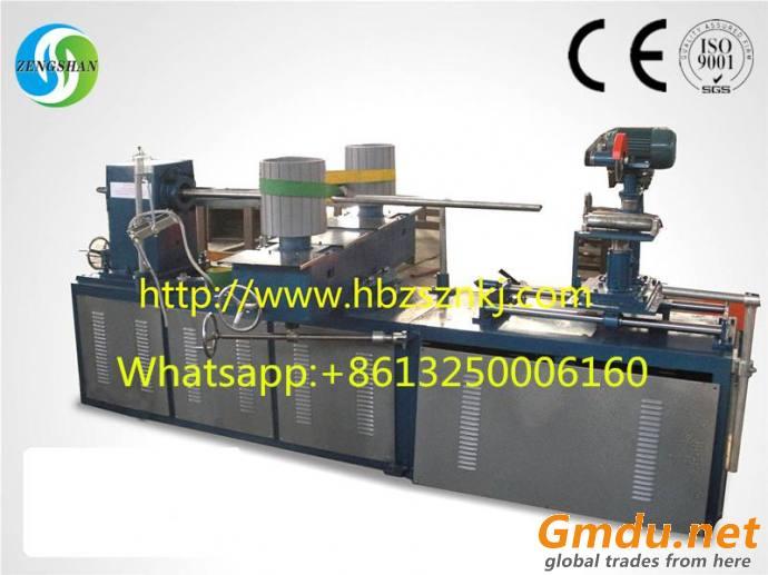 Spiral paper tube machine