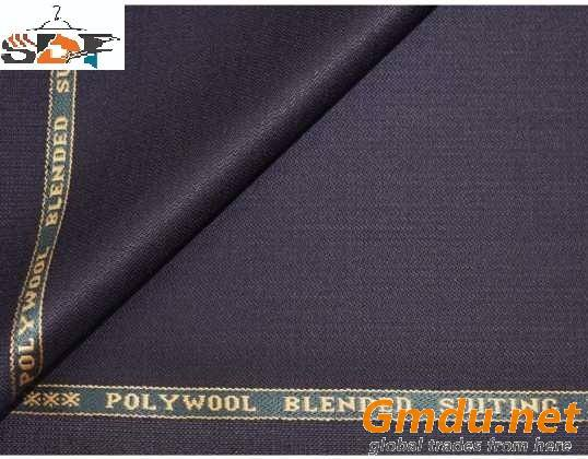 Polyester Wool Blend Suit Fabric
