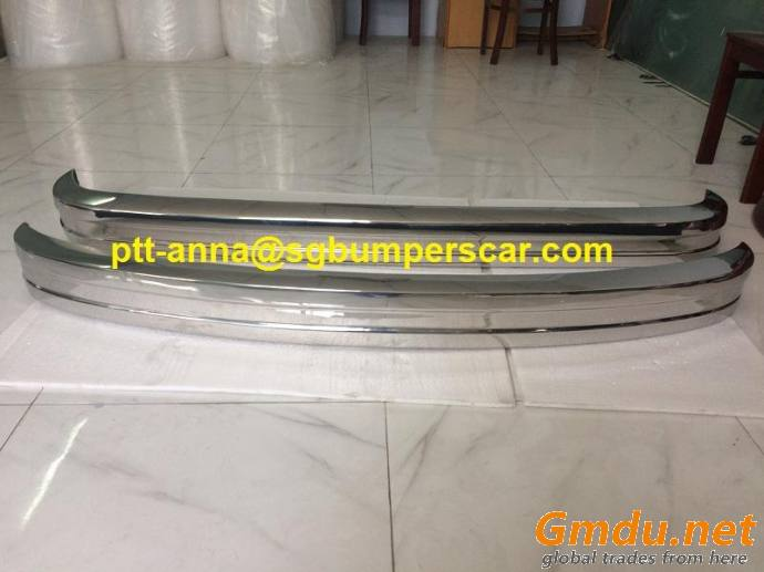 Volkswagen Bus T2 Late Bay Model Front bumper and Rear Bumper 73-79