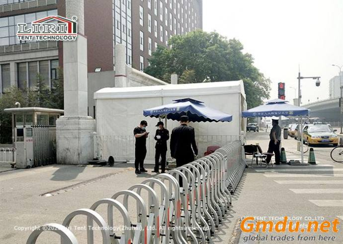 Security Checking Point Tent