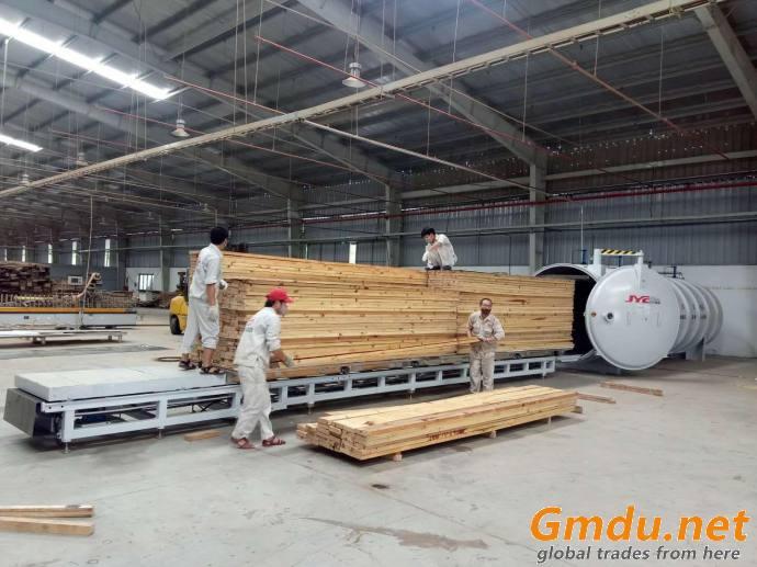 HF/RF Fast high frequency wood vacuum drying/timber dryer klin